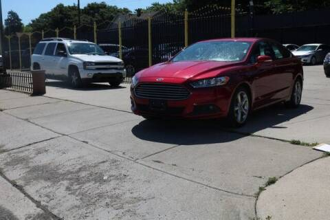 2013 Ford Fusion for sale at F & M AUTO SALES in Detroit MI