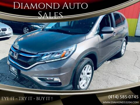 2015 Honda CR-V for sale at Diamond Auto Sales in Milwaukee WI