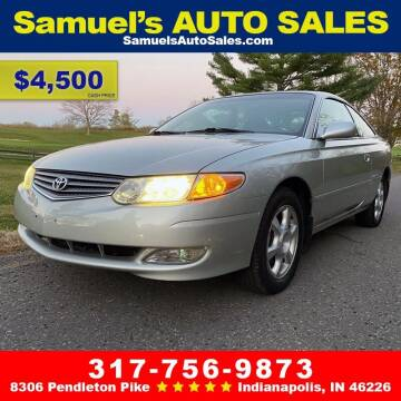 2003 Toyota Camry Solara for sale at Samuel's Auto Sales in Indianapolis IN