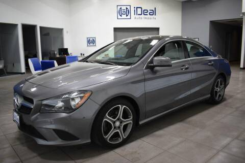 2014 Mercedes-Benz CLA for sale at iDeal Auto Imports in Eden Prairie MN