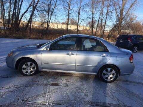 2007 Kia Spectra for sale at AM Auto Sales in Forest Lake MN