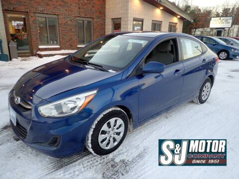 2015 Hyundai Accent for sale at S & J Motor Co Inc. in Merrimack NH
