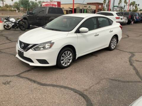 2017 Nissan Sentra for sale at ALMOST NEW AUTO RENTALS & SALES in Mesa AZ