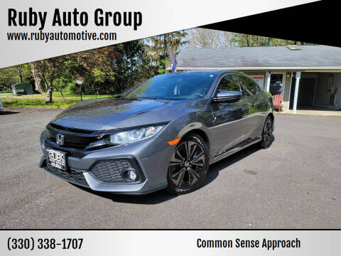 2018 Honda Civic for sale at Ruby Auto Group in Hudson OH