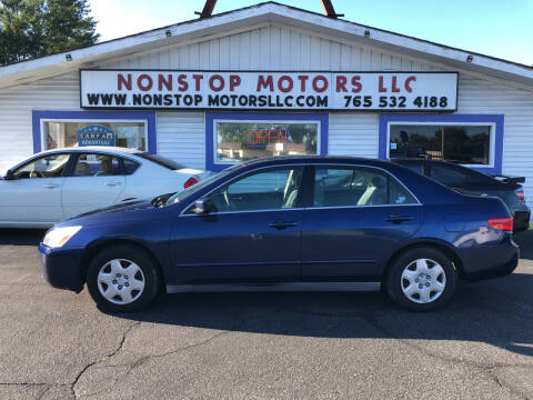 2005 Honda Accord for sale at Nonstop Motors in Indianapolis IN