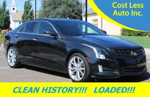 2013 Cadillac ATS for sale at Cost Less Auto Inc. in Rocklin CA