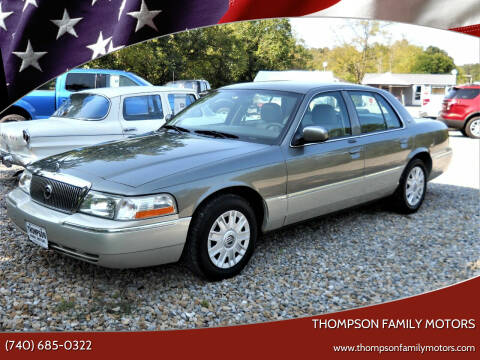 2004 Mercury Grand Marquis for sale at THOMPSON FAMILY MOTORS in Senecaville OH