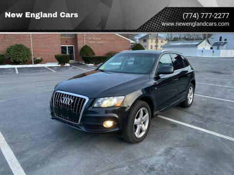 2012 Audi Q5 for sale at New England Cars in Attleboro MA