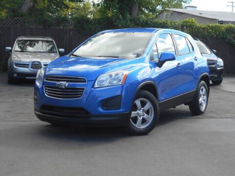 2015 Chevrolet Trax for sale at MT MORRIS AUTO SALES INC in Mount Morris MI