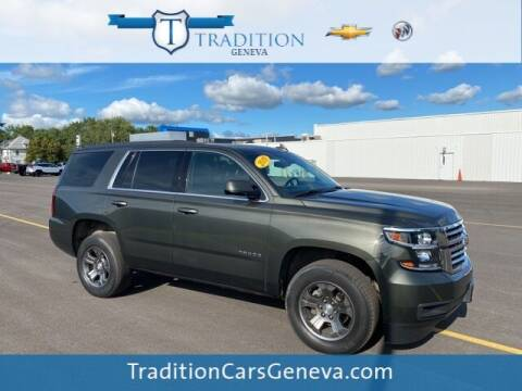 2019 Chevrolet Tahoe for sale at Tradition Chevrolet Buick in Geneva NY