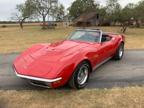 1971 Chevrolet Corvette for sale at STREET DREAMS TEXAS in Fredericksburg TX