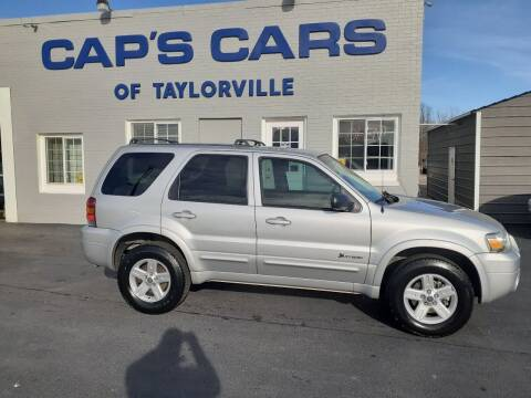2006 Ford Escape Hybrid for sale at Caps Cars Of Taylorville in Taylorville IL
