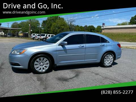 2012 Chrysler 200 for sale at Drive and Go, Inc. in Hickory NC