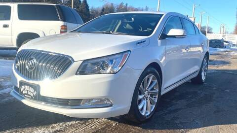 2016 Buick LaCrosse for sale at Affordable Auto Sales in Webster WI