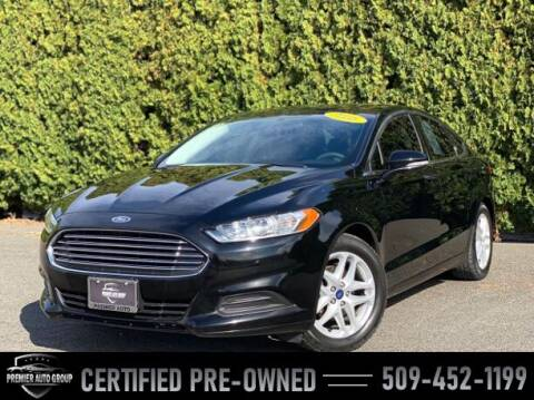 2016 Ford Fusion for sale at Premier Auto Group in Union Gap WA