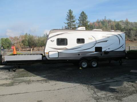 2014 HIDEOUT TOY HAULER for sale at Oregon RV Outlet LLC - Travel Trailers in Grants Pass OR