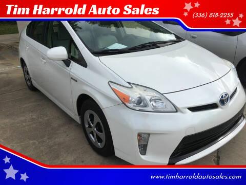 2012 Toyota Prius for sale at Tim Harrold Auto Sales in Wilkesboro NC