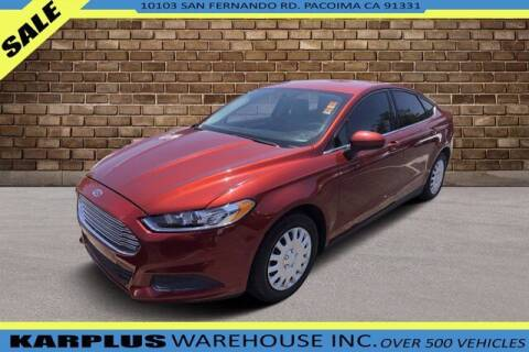 2014 Ford Fusion for sale at Karplus Warehouse in Pacoima CA