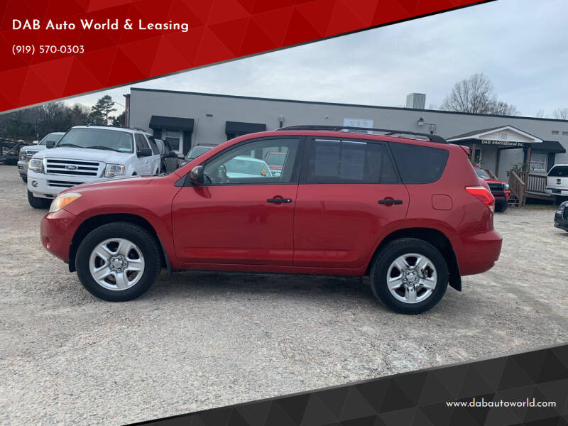 2007 Toyota RAV4 for sale at DAB Auto World & Leasing in Wake Forest NC