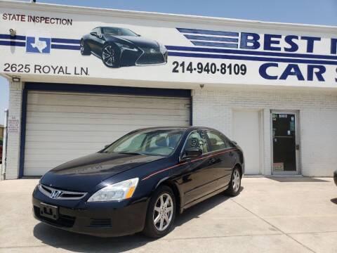 2003 Honda Accord for sale at Best Royal Car Sales in Dallas TX