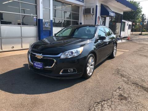 2014 Chevrolet Malibu for sale at Jack E. Stewart's Northwest Auto Sales, Inc. in Chicago IL