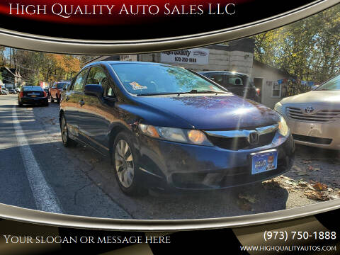 2010 Honda Civic for sale at High Quality Auto Sales LLC in Bloomingdale NJ