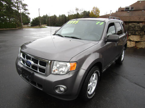 2011 Ford Escape for sale at Mike Federwitz Autosports, Inc. in Wisconsin Rapids WI
