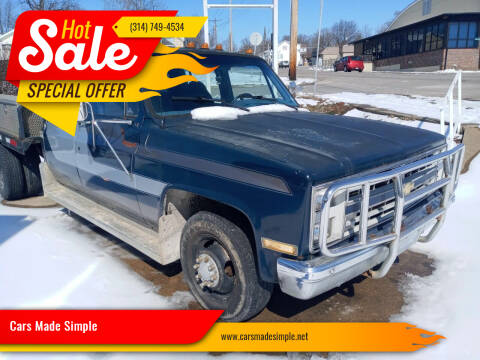 1988 Chevrolet R/V 3500 Series for sale at Cars Made Simple in Union MO