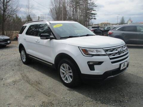 2018 Ford Explorer for sale at MC FARLAND FORD in Exeter NH