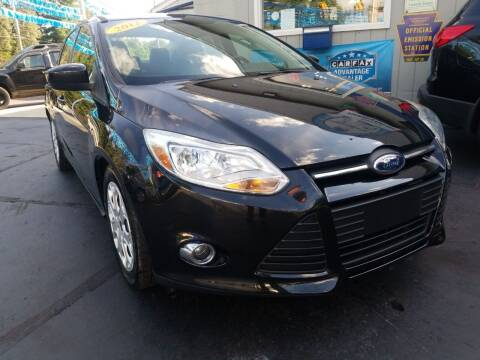 2012 Ford Focus for sale at Fleetwing Auto Sales in Erie PA