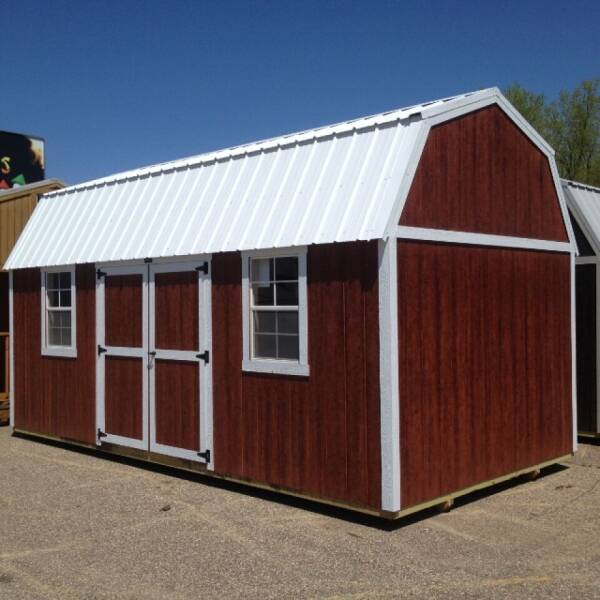 2021 Premier side lofted barn for sale at Triple R Sales in Lake City MN