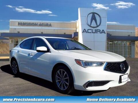 2019 Acura TLX for sale at Precision Acura of Princeton in Lawrence Township NJ