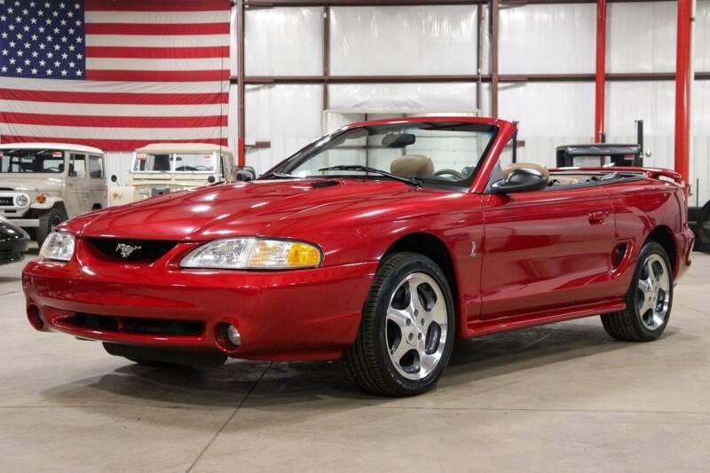 1996 Ford Mustang SVT Cobra for sale in Grand Rapids, MI
