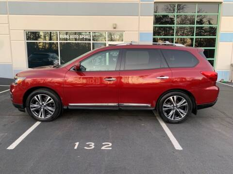 2017 Nissan Pathfinder for sale at Euro Auto Sport in Chantilly VA