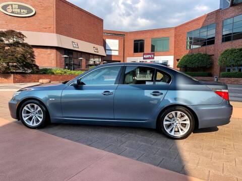 2010 BMW 5 Series for sale at First Generation Motors in Marietta GA