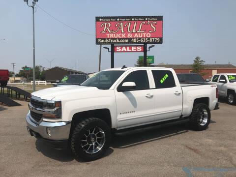 2017 Chevrolet Silverado 1500 for sale at RAUL'S TRUCK & AUTO SALES, INC in Oklahoma City OK