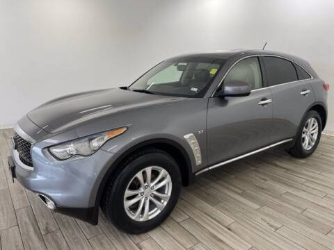 2017 Infiniti QX70 for sale at TRAVERS GMT AUTO SALES - Traver GMT Auto Sales West in O Fallon MO