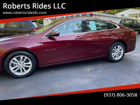 2016 Chevrolet Malibu for sale at Roberts Rides LLC in Franklin OH