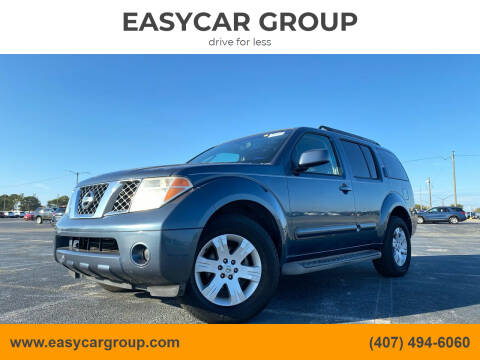 2006 Nissan Pathfinder for sale at EASYCAR GROUP in Orlando FL