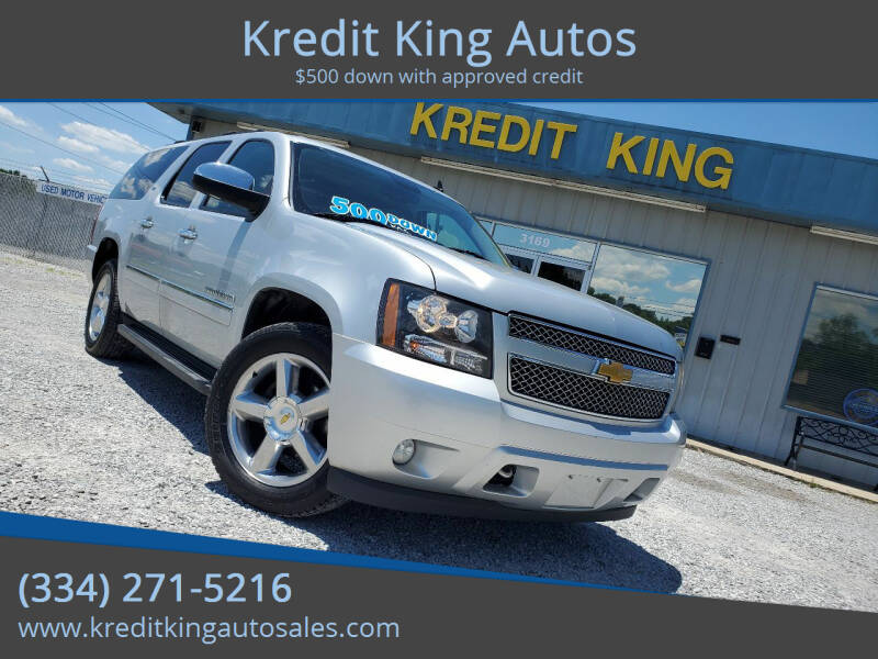 2013 Chevrolet Suburban for sale at Kredit King Autos in Montgomery AL