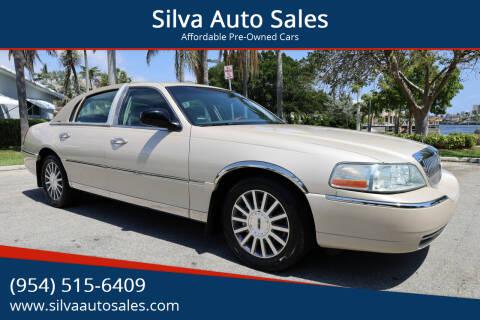 2003 Lincoln Town Car for sale at Silva Auto Sales in Pompano Beach FL