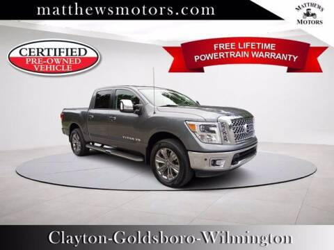 2018 Nissan Titan for sale at Auto Finance of Raleigh in Raleigh NC