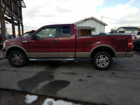 2006 Ford F-150 for sale at Creekside Auto Sales in Pocatello ID