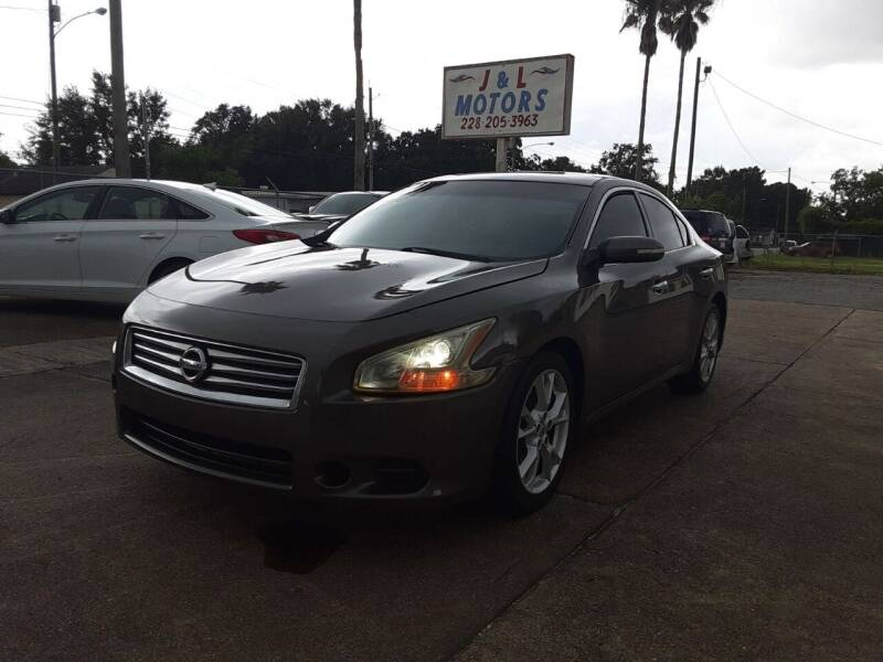 2014 Nissan Maxima for sale at J & L Motors in Pascagoula MS