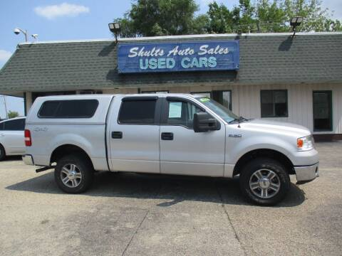 2008 Ford F-150 for sale at SHULTS AUTO SALES INC. in Crystal Lake IL