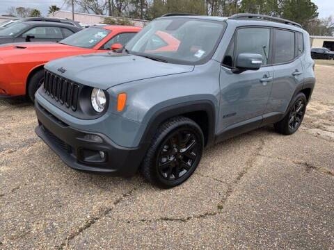 2018 Jeep Renegade for sale at CROWN  DODGE CHRYSLER JEEP RAM FIAT in Pascagoula MS