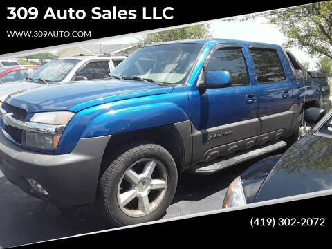 2003 Chevrolet Avalanche for sale at 309 Auto Sales LLC in Harrod OH