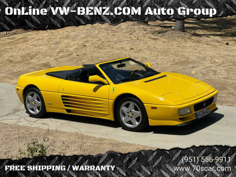 1994 Ferrari 348 for sale at Online AutoGroup FREE SHIPPING in Riverside CA