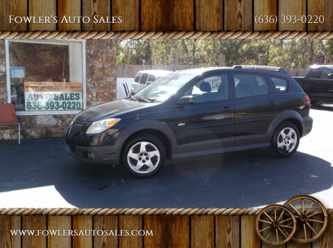 2006 Pontiac Vibe for sale at Fowler's Auto Sales in Pacific MO