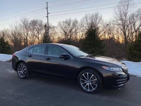 2015 Acura TLX for sale at Encore Auto in Niles MI